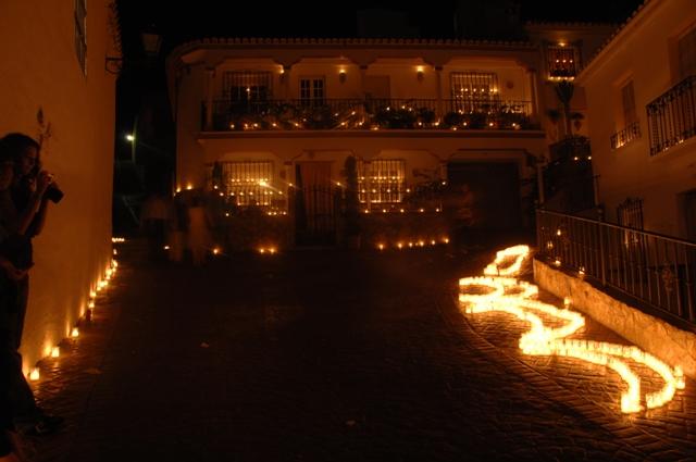Fiestas típicas en Andalucía: vino, Cascamorras y noches románticas. Fotos cortesía del Ayto de Guaro