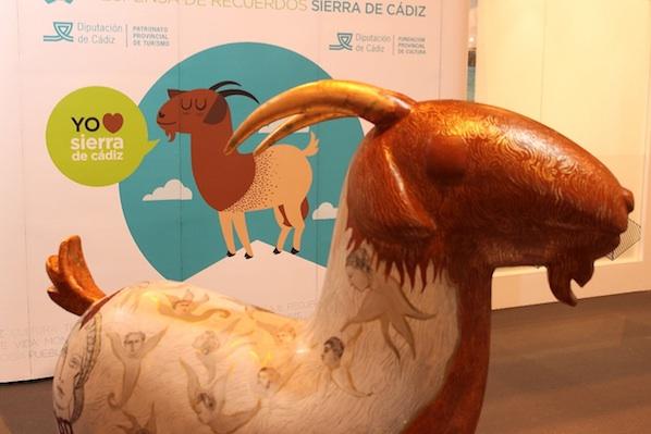 La cabra payoya, la mascota de Despensa de Recuerdos.