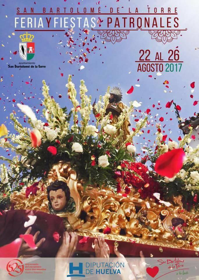 San Bartolomé de la Torre celebra el último día de sus fiestas