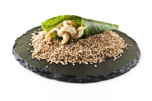 'Dulce Mar', una de las delicias culinarias creadas por Ángel León.