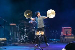 Jamie Cullum en concierto en el Starlite Festival 2013