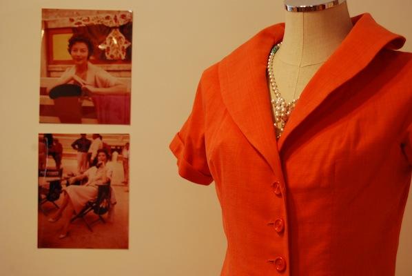 Objetos personales de Ava Gardner. Retroback 2014.