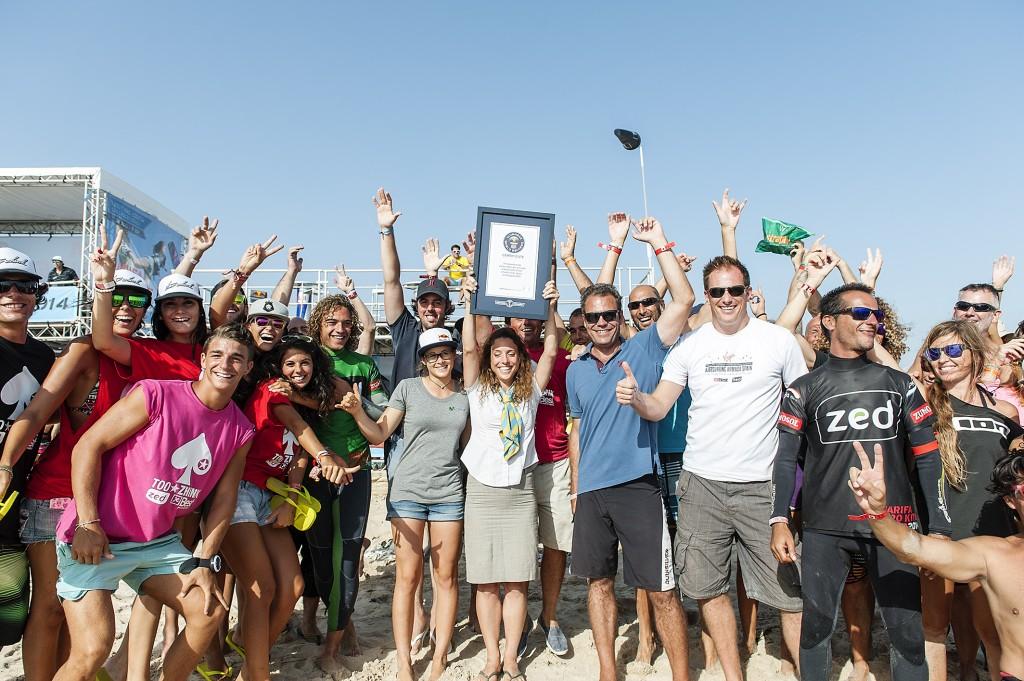 2014-TarifaProKiteTour-Record Guinness