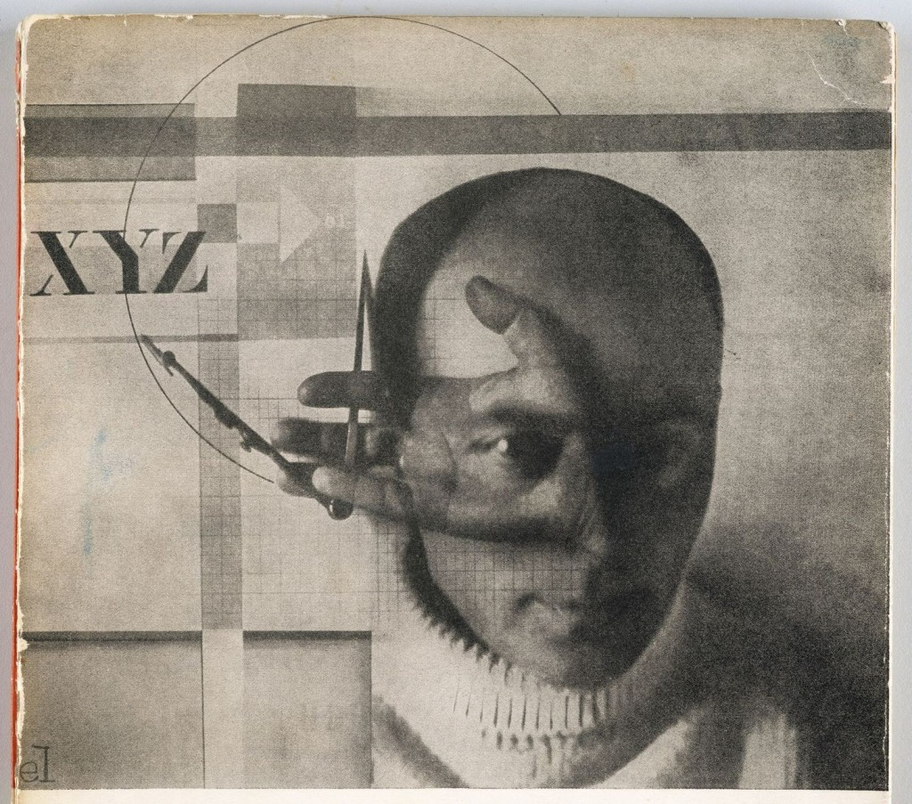 El Constructor (Autoretrato) 1924. El Lissitzky (1890-1941). The Getty Research Institute, Los Angeles