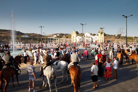 La inauguración del nuevo recinto ferial de Estepona © Ayuntameinto de Estepona
