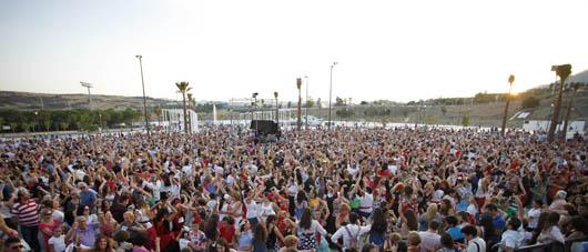 1.800 personas bailando sevillanas en el recinto ferial de Estepona © Ayuntamiento de Estepona