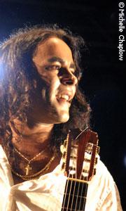 Daniel Casares en concierto.
